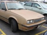 Chevrolet Cavalier I, 1982-1987, Седан
