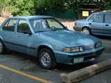 Chevrolet Cavalier II, 1988-1994, Седан