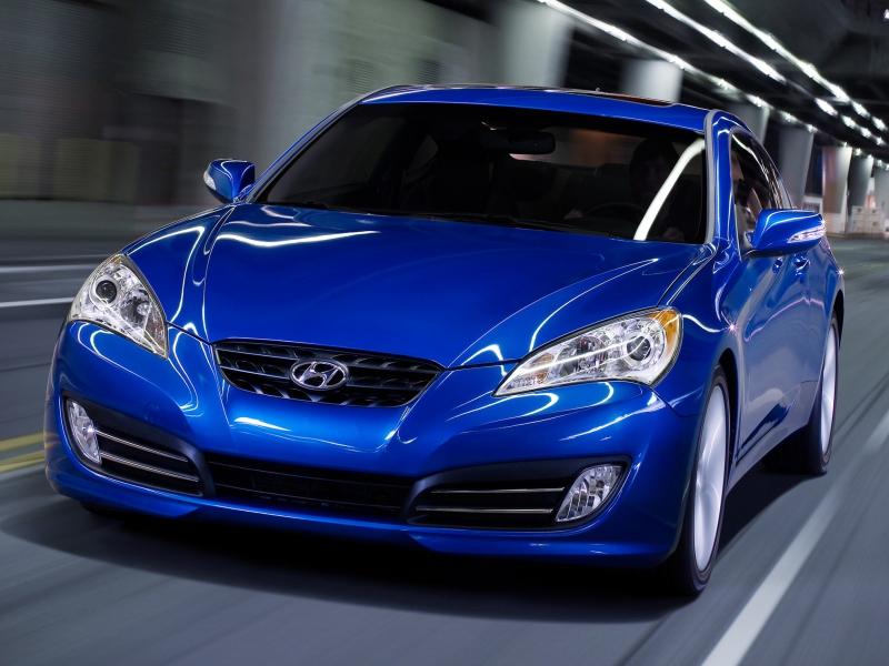 фото Hyundai Genesis Coupe 2010.